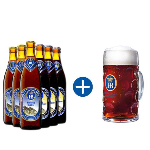 Hofbräu Dunkelbier Paket
