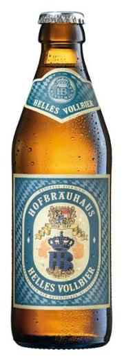 Hofbräuhaus Hell 0,33 Liter