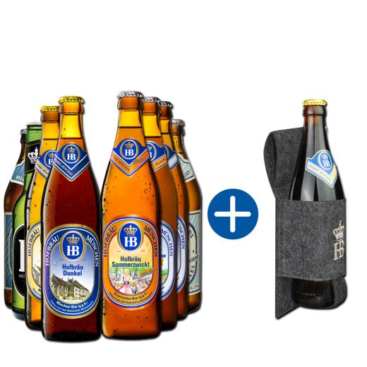 "Hofbräu Geschenkpaket ""Bierholster"""